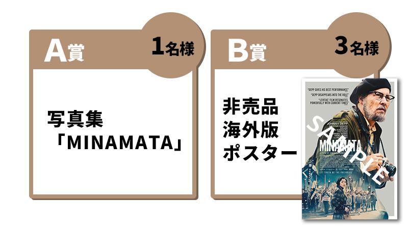 写真集「MINAMATA」(1名様),非売品海外版ポスター(3名様)