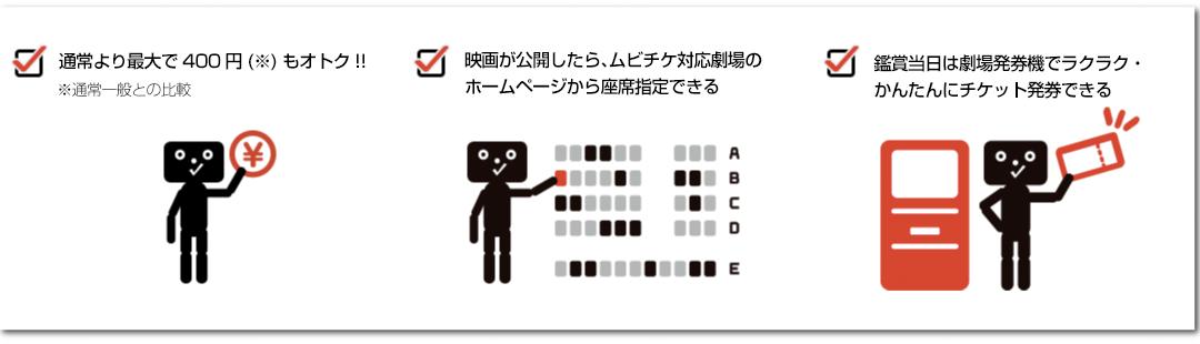ムビチケオンライン。ネットで座席指定ができる通常料金よりおトクなデジタル映画前売り券です。
